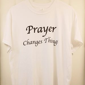 "Women's ""Prayer Changes Things"" Tee-Shirt"